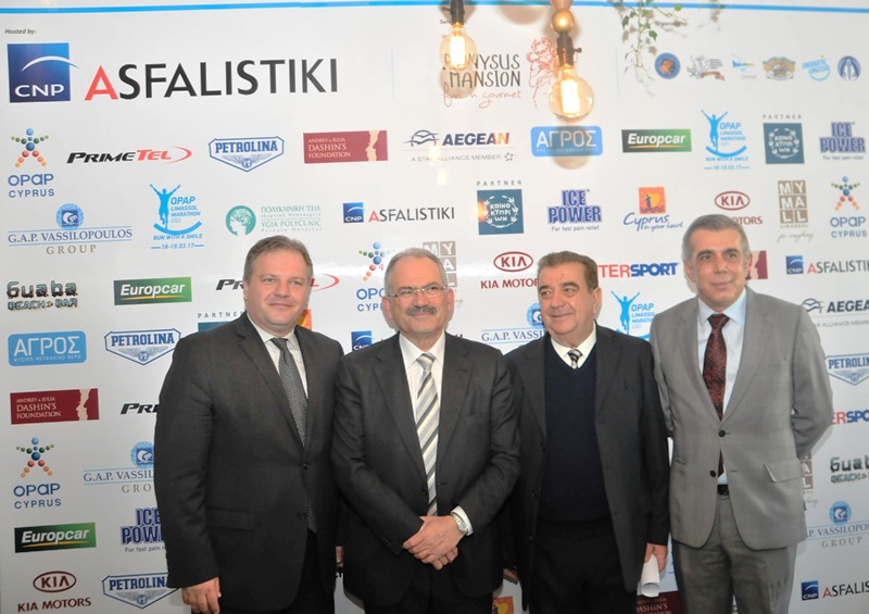CNP ASFALISTIKI IS THE HEALTD AND SAFETY SPONSOR OF OPAP LIMASSOL MARATHOON GSO