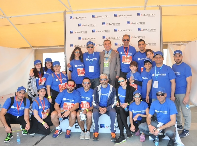 THE STRENGTH OF CNP ASFALISTIKI COVERED THE 15,000 PARTICIPANTS IN OPAP LIMASOL MARATHON GSO