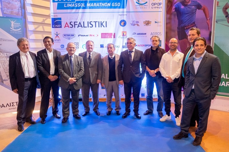 CNP ASFALISTIKI PROVIDES INSURANCE COVERAGE FOR THE OPAP LIMASSOL MARATHON GSO 2018