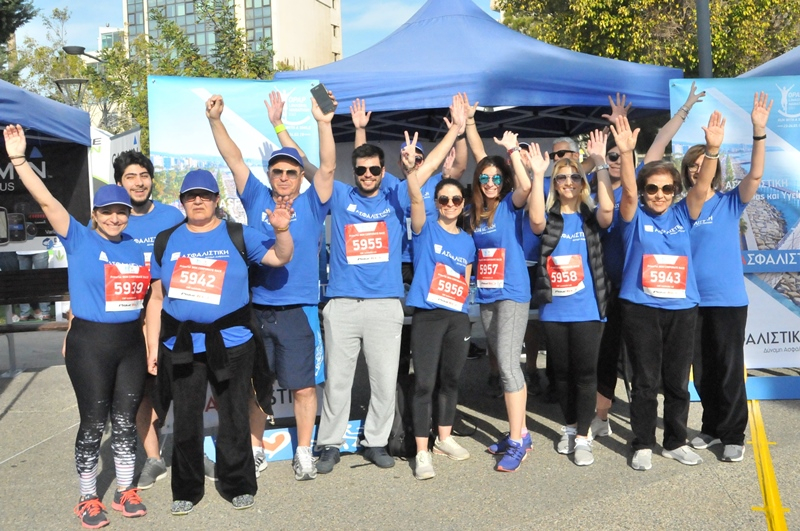 CNP ASFALISTIKI provided insurance cover for 15.000 participants to the OPAP Limassol Marathon GSO 2019
