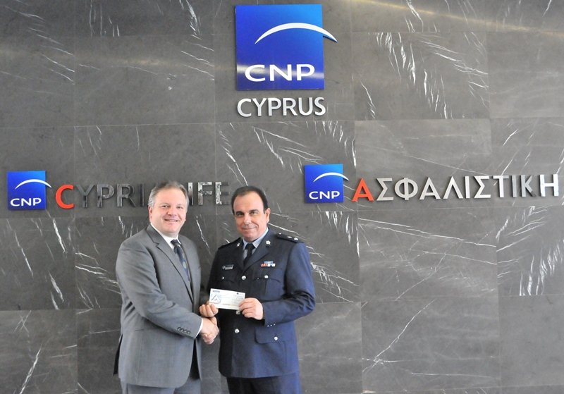 CNP ASFALISTIKI DONATION TO ROAD SAFETY CAMPAIGN 2017