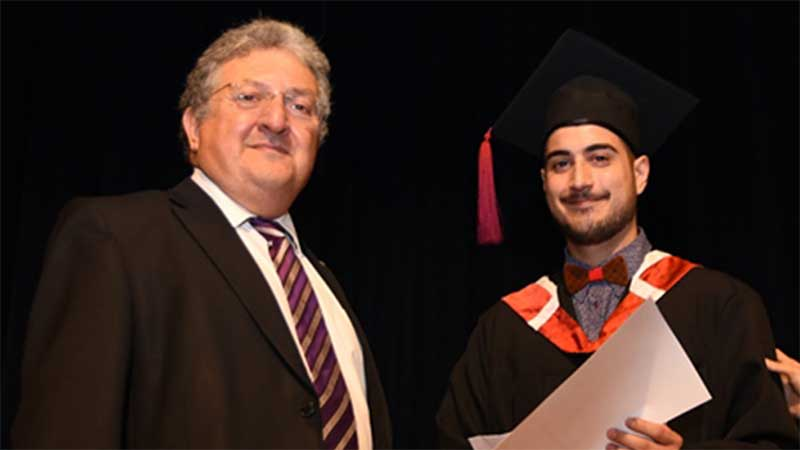 Student Award of UCLan Cyprus University