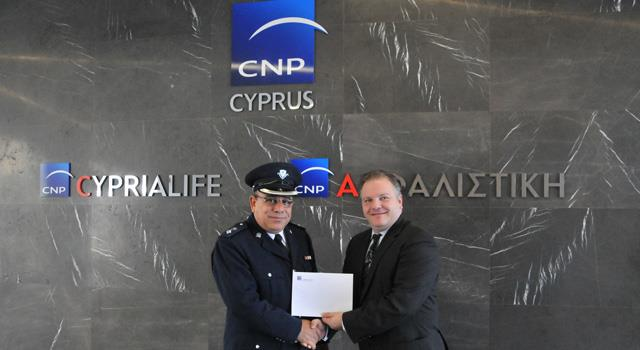 CNP ASFALISTIKI donation to Road Safety Campaign 2016