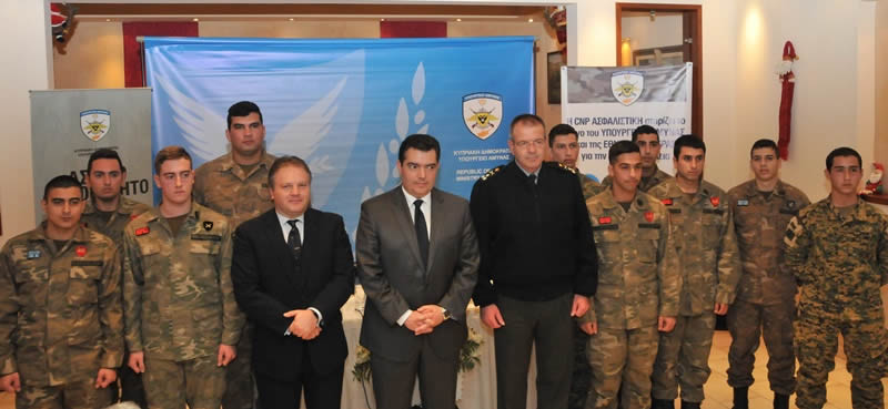 CNP ASFALISTIKI SUPPORTS THE MINISTRY OF DEFENCE ON ROAD SAFETY ACTIONS